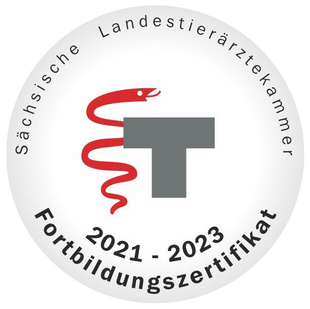 Fortbildungszertifikat 2021-2023