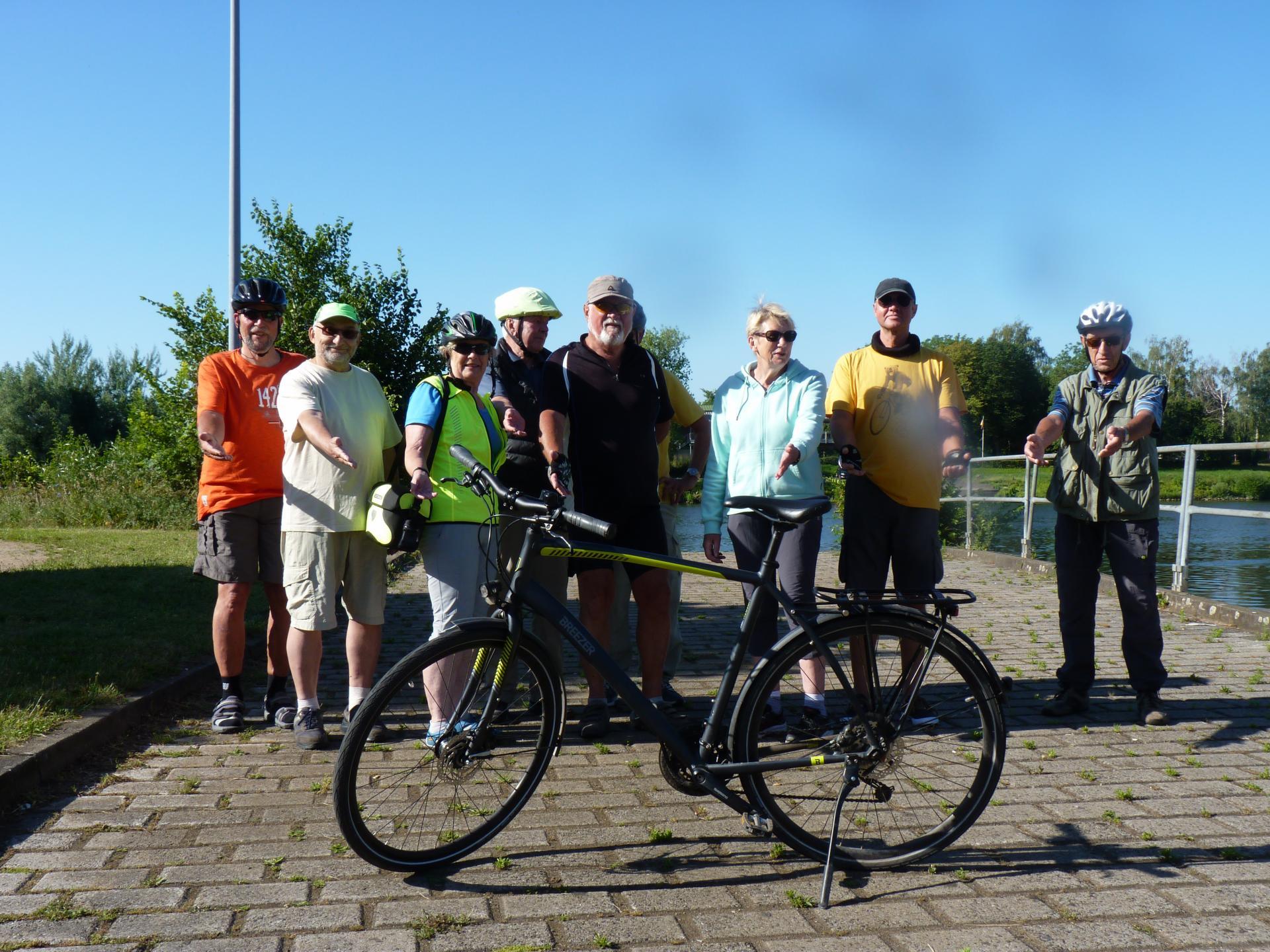 Teilnehmer*innen der Radtour vom 25.06.2020
