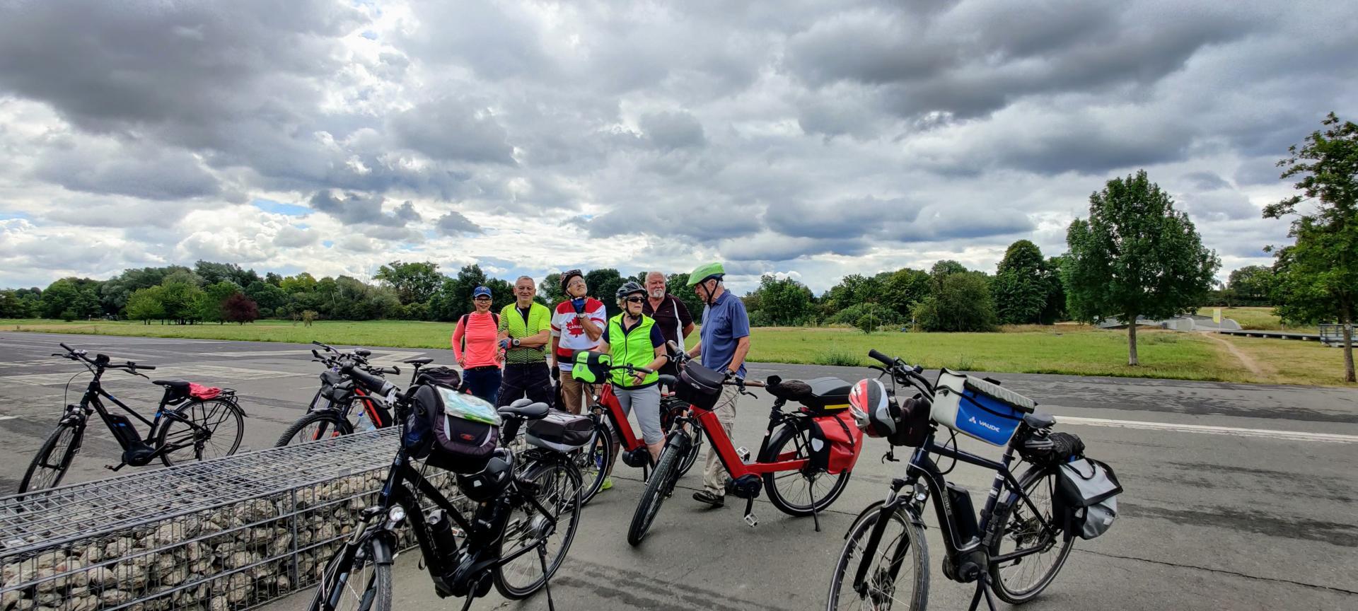 Teilnehmer*innen der Radtour vom 26.07.2020