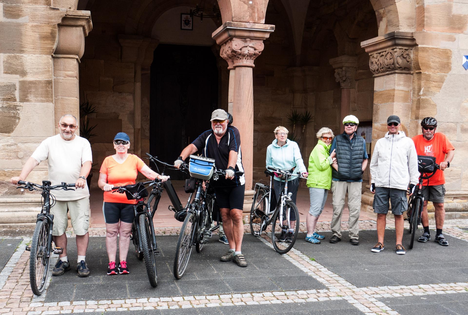 Teilnehmer*innen der Radtour vom 30.06.2020