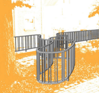 Zeigt den Enwurf mit dem Zaun zu Entwurf c