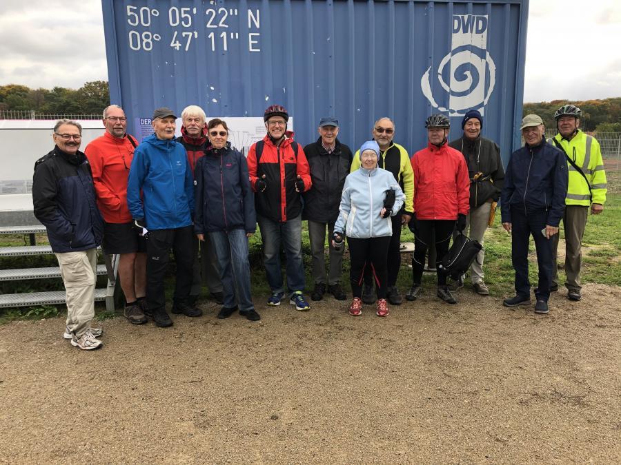 Dieses Bild zeigt die Teilnehmer der Radtour 10; Foto: Maintal Aktiv - Freiwilligenagentur