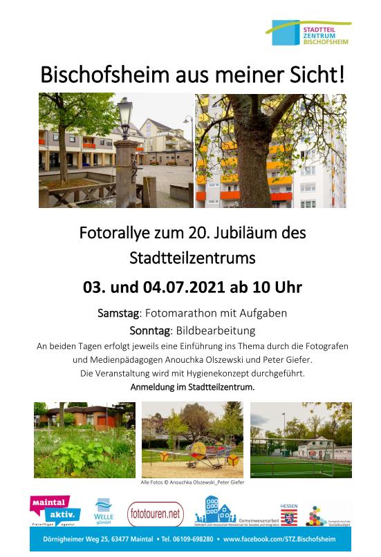 Jubiläumsveranstaltung 20 Jahre Stadtteilzentrum Bischofsheim