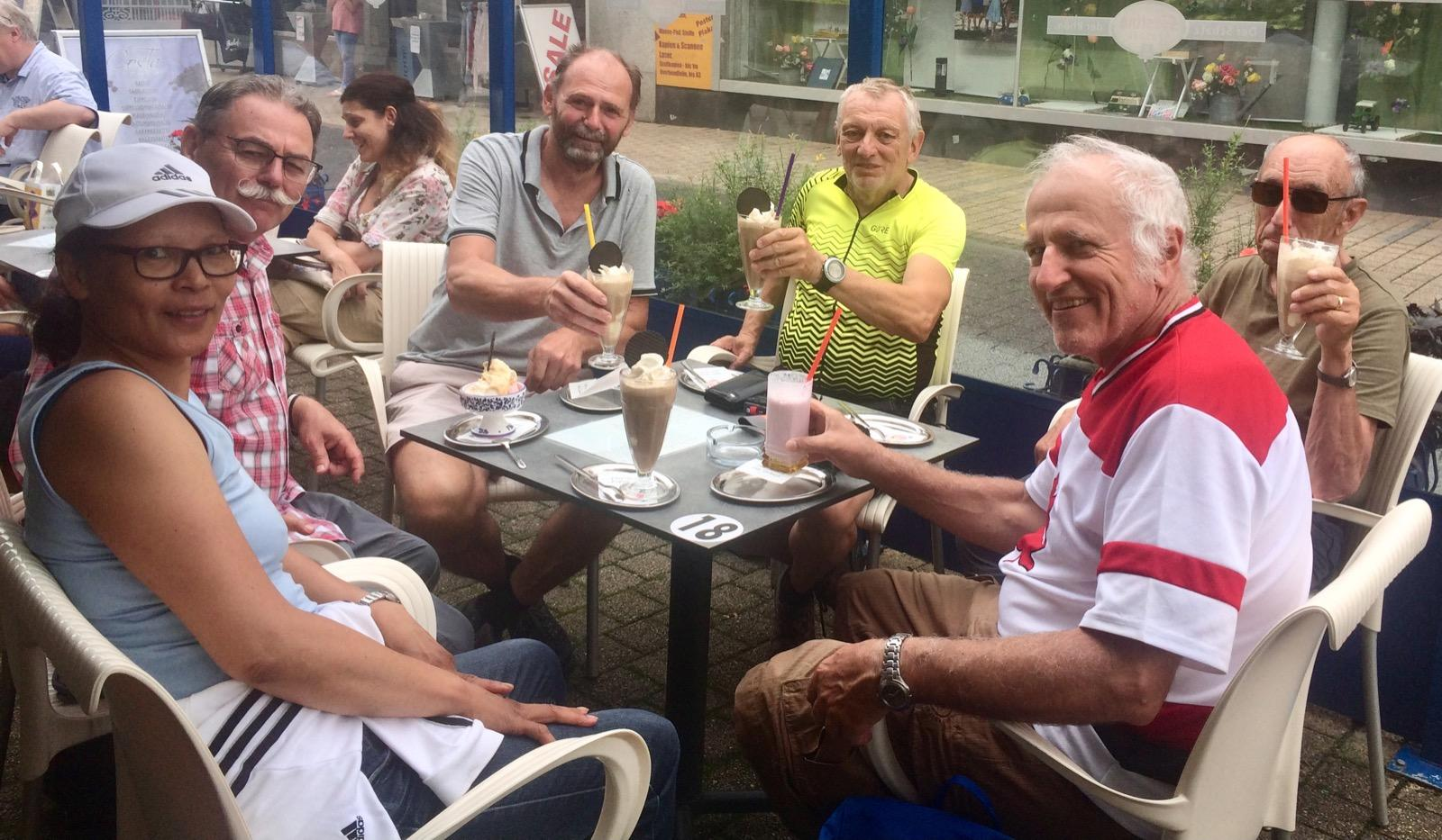 Gruppenfoto Nr. 2 Radtour 15.07.2021