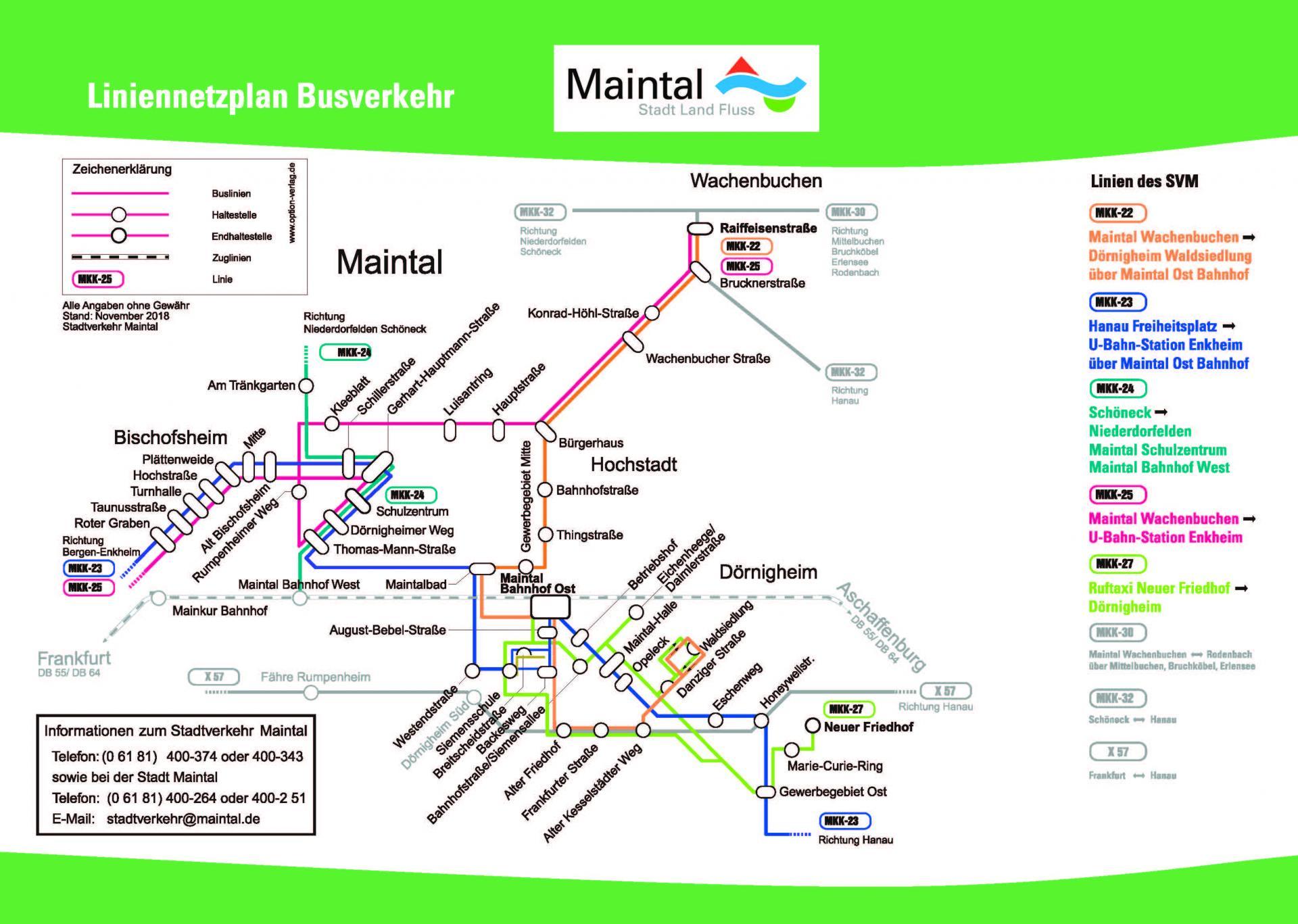 Liniennetzplan
