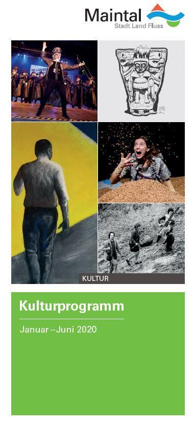 Bild zeigt Titel Kulturprogramm 1. Halbjahr 2020
