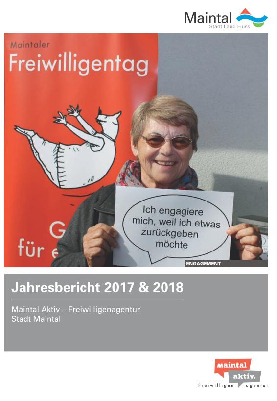 Link führt zur PDF - Jahresbericht 2017 + 2018 der Maintal Aktiv - Freiwilligenagentur