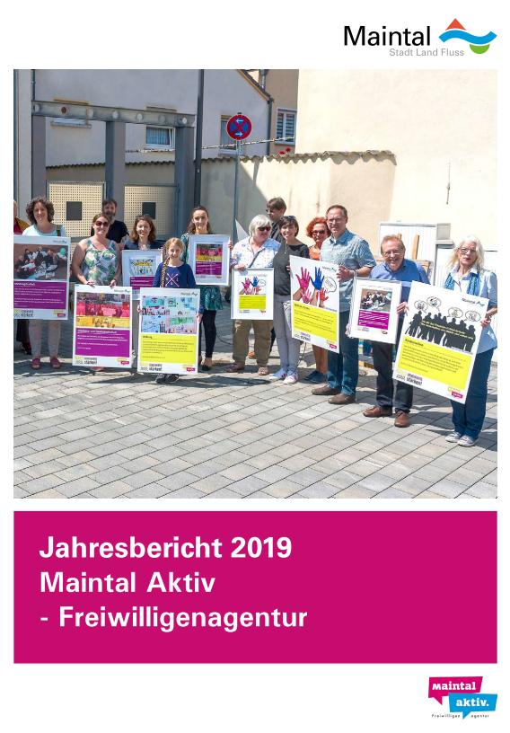Link führt zur PDF - Jahresbericht 2019 der Maintal Aktiv - Freiwilligenagentur