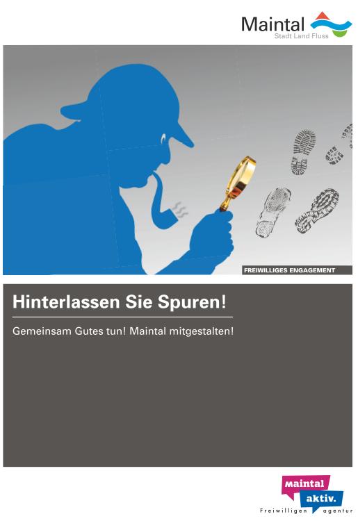 """Link führt zur PDF Postwurfsendung """"Sherlock"""" der Maintal Aktiv - Freiwilligenagentur"""