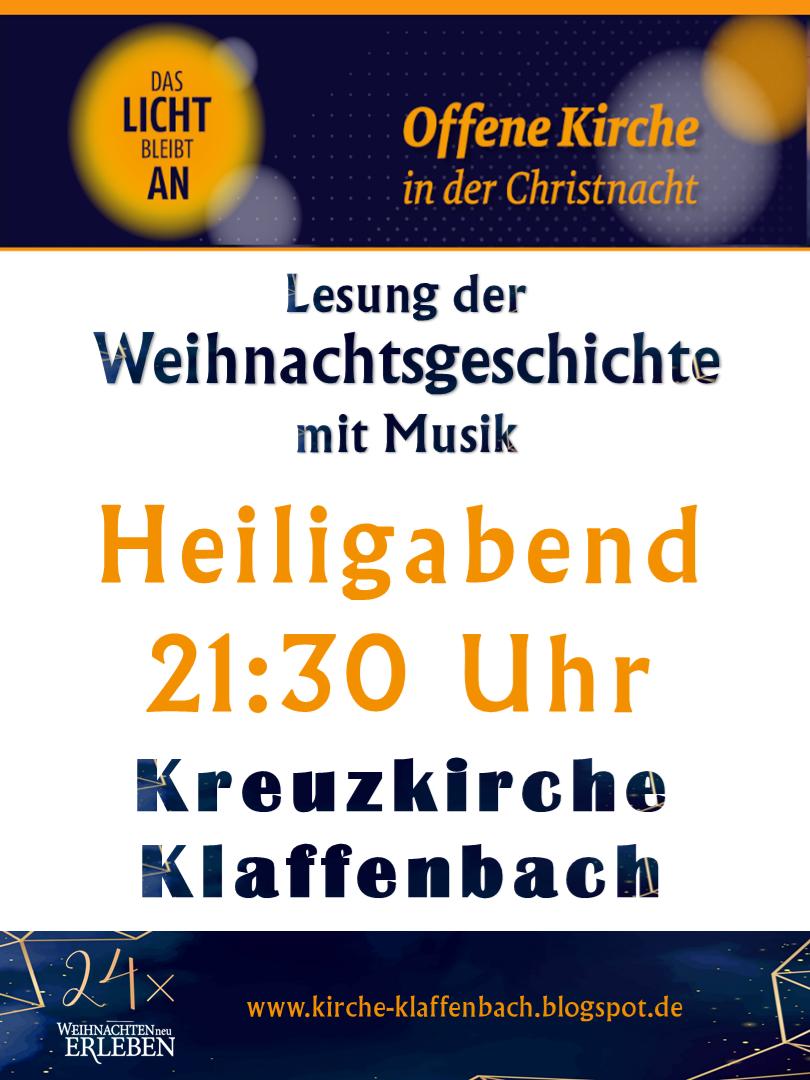 Offene Kirche Klaffenbach