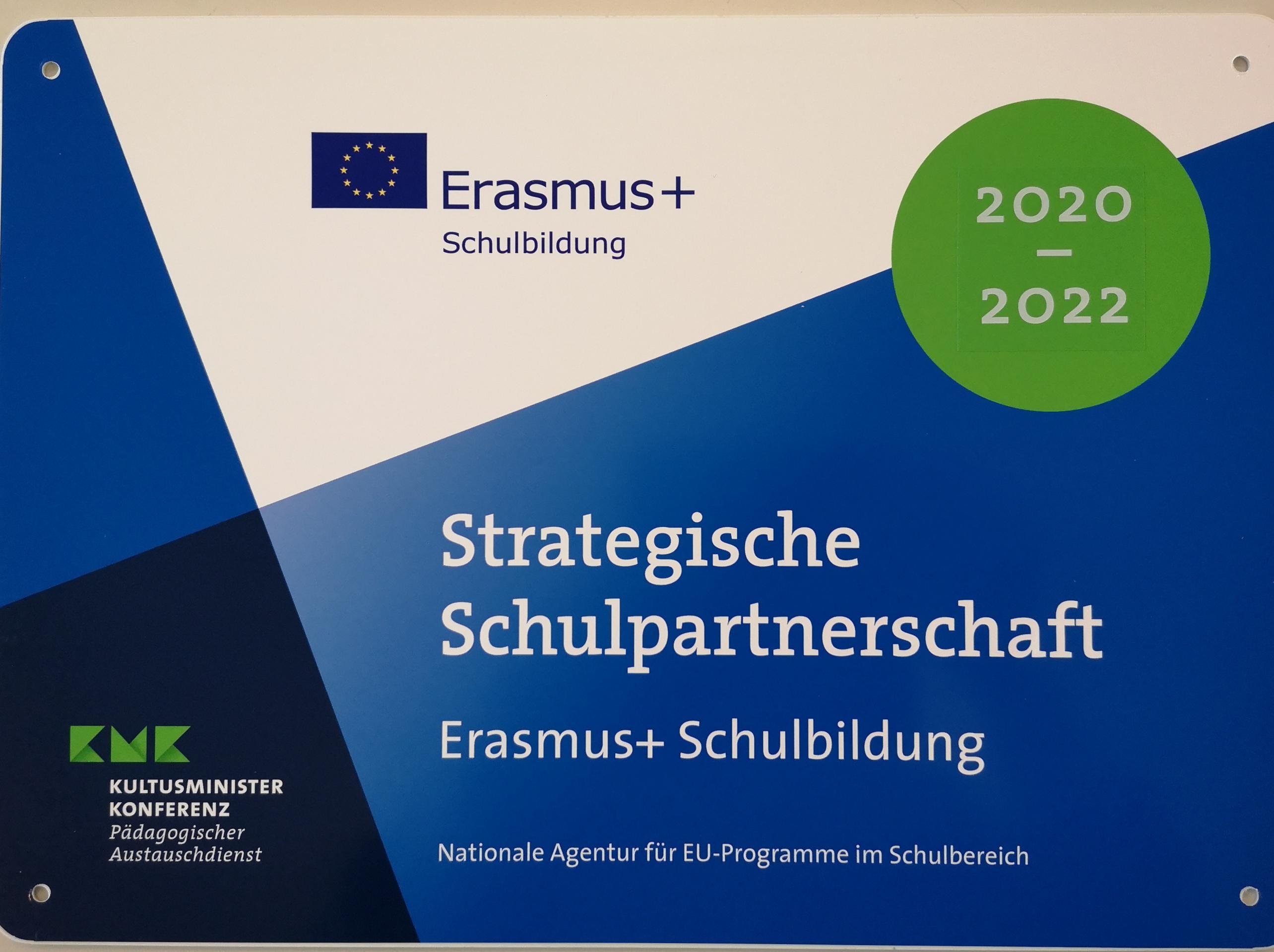 Erasmus 2020-2022