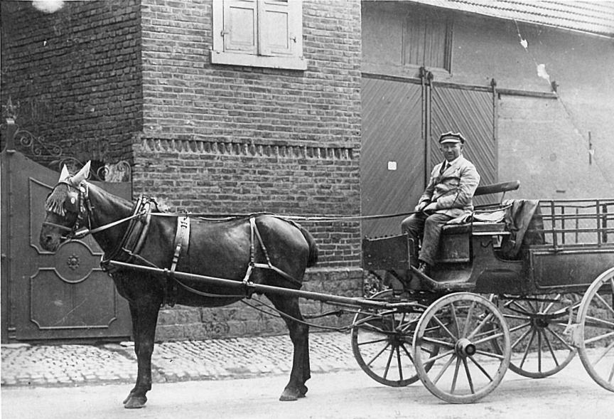 Viehhändler Moses Marx, Foto: Slg. Wolff