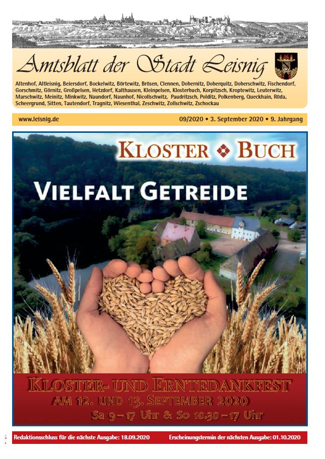 Amtsblatt Nr. 9
