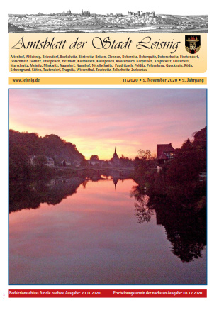 Amtblatt 2020/11 Bild