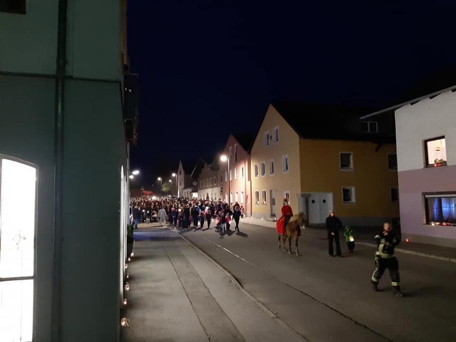 Verkehrsabsicherung St. Martinszug 08.11.2019