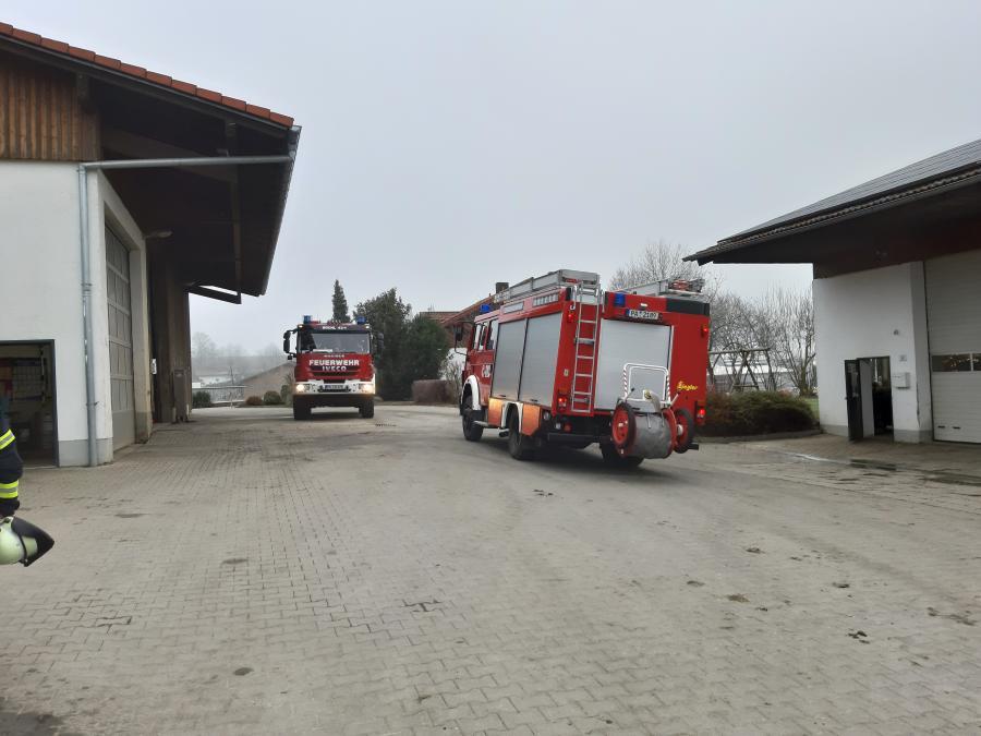 Brand Blockheizkraftwerk in Neukirchen v. W. 06.12.2019