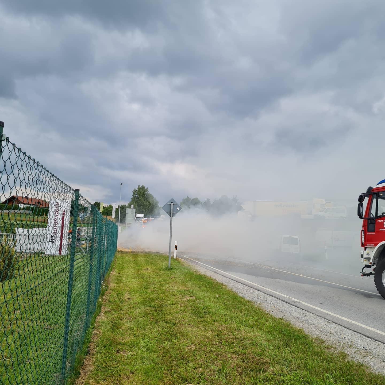 Brand landwirtschaftliche Maschine 08.07.2021
