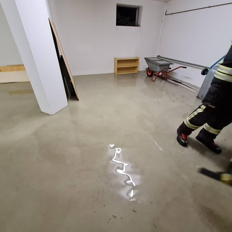 Keller unter Wasser 15.09.2021