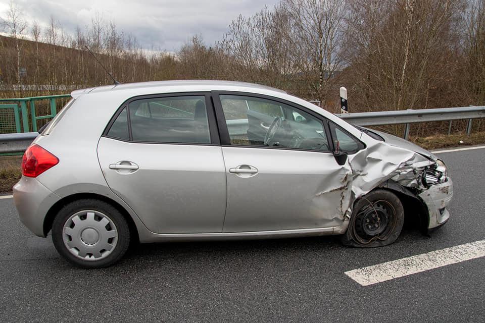 Verkehrsunfall B85, Höhe Fensterfabrik 04.03.2020