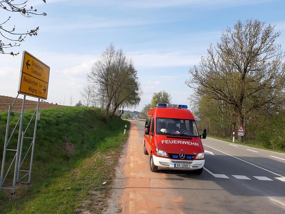 Dieselspur 17.04.2020