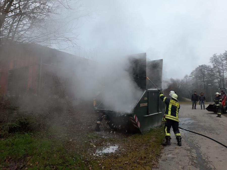Brand Container in Pilling 06.12.2019