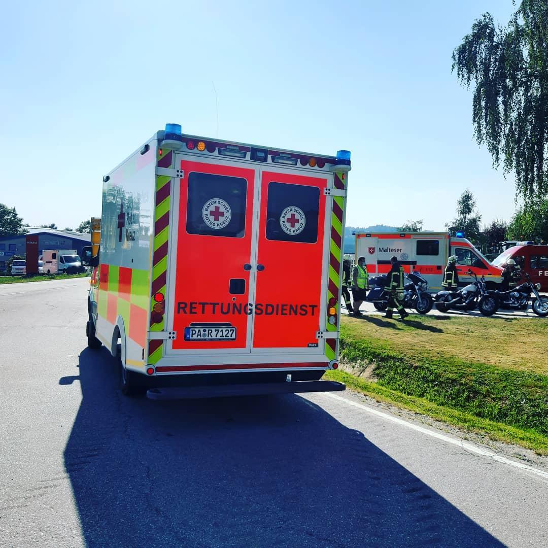 Verkehrsunfall mit Motorrad 09.08.2020
