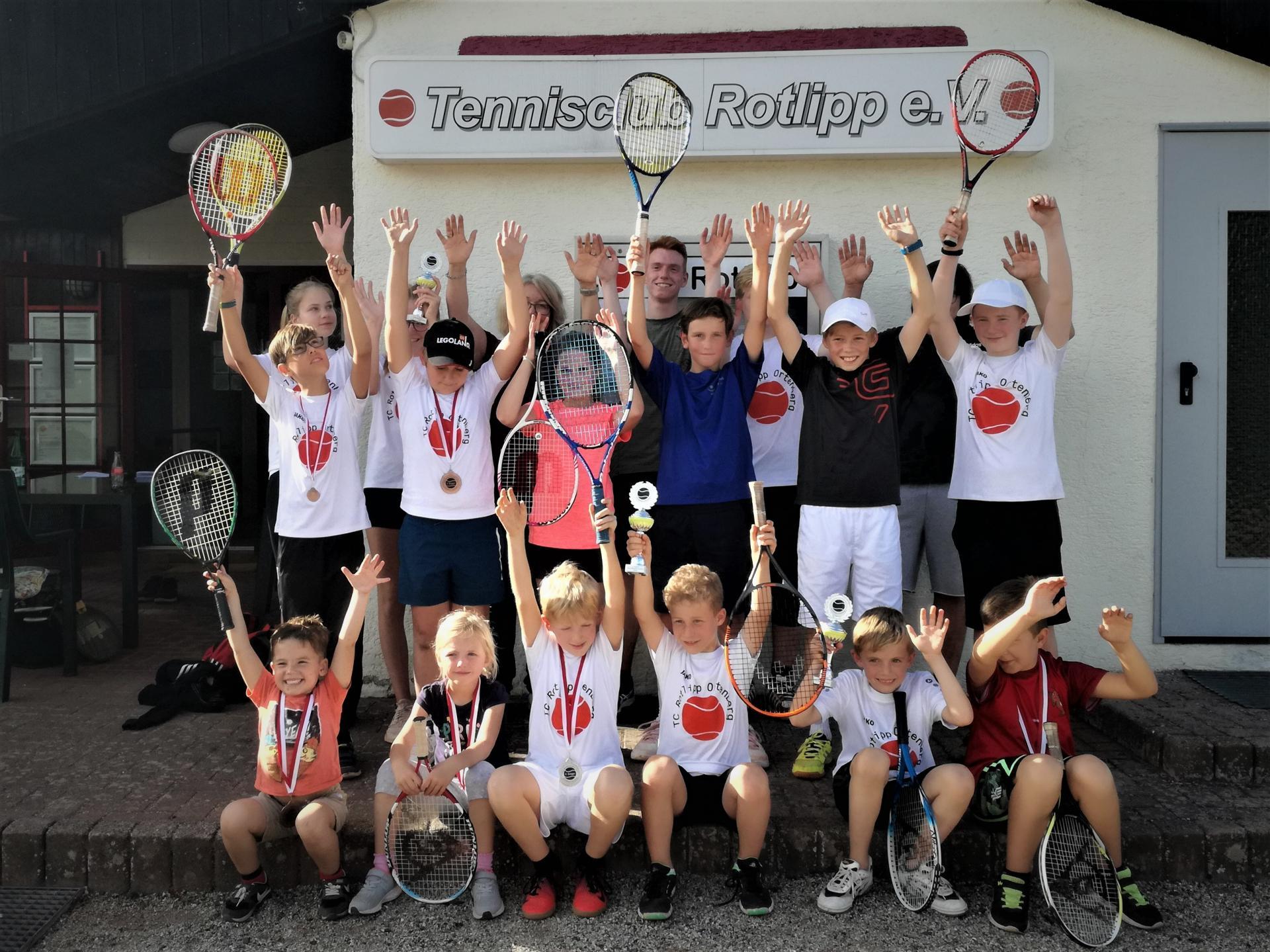 Kids-Meisterschaften beim TC Rotlipp