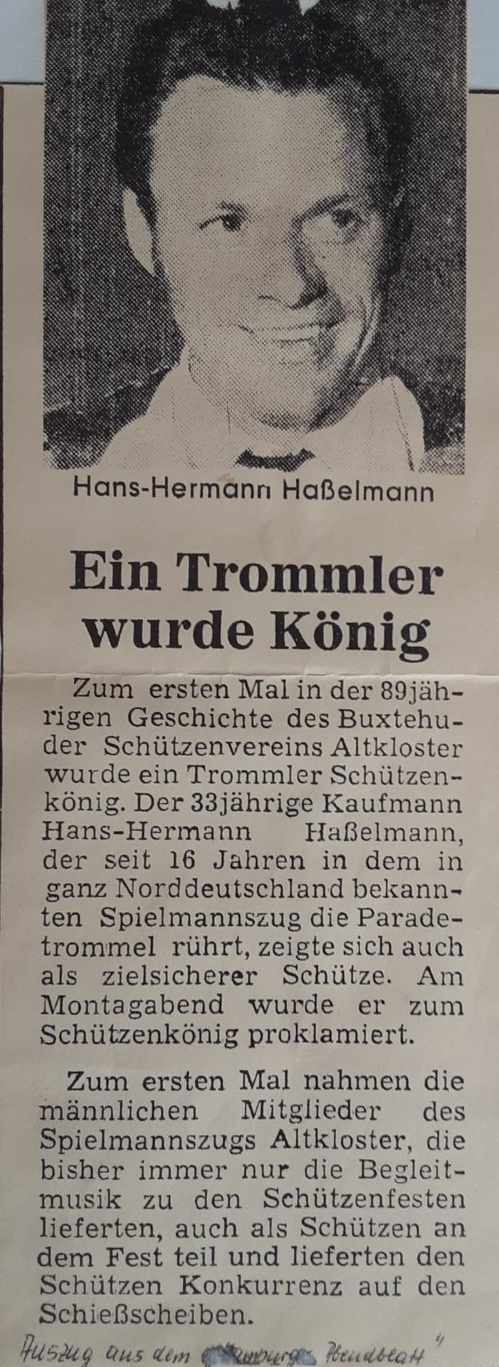Der erste Schwarz-Weiße König > Hans-Hermann Haßelmann