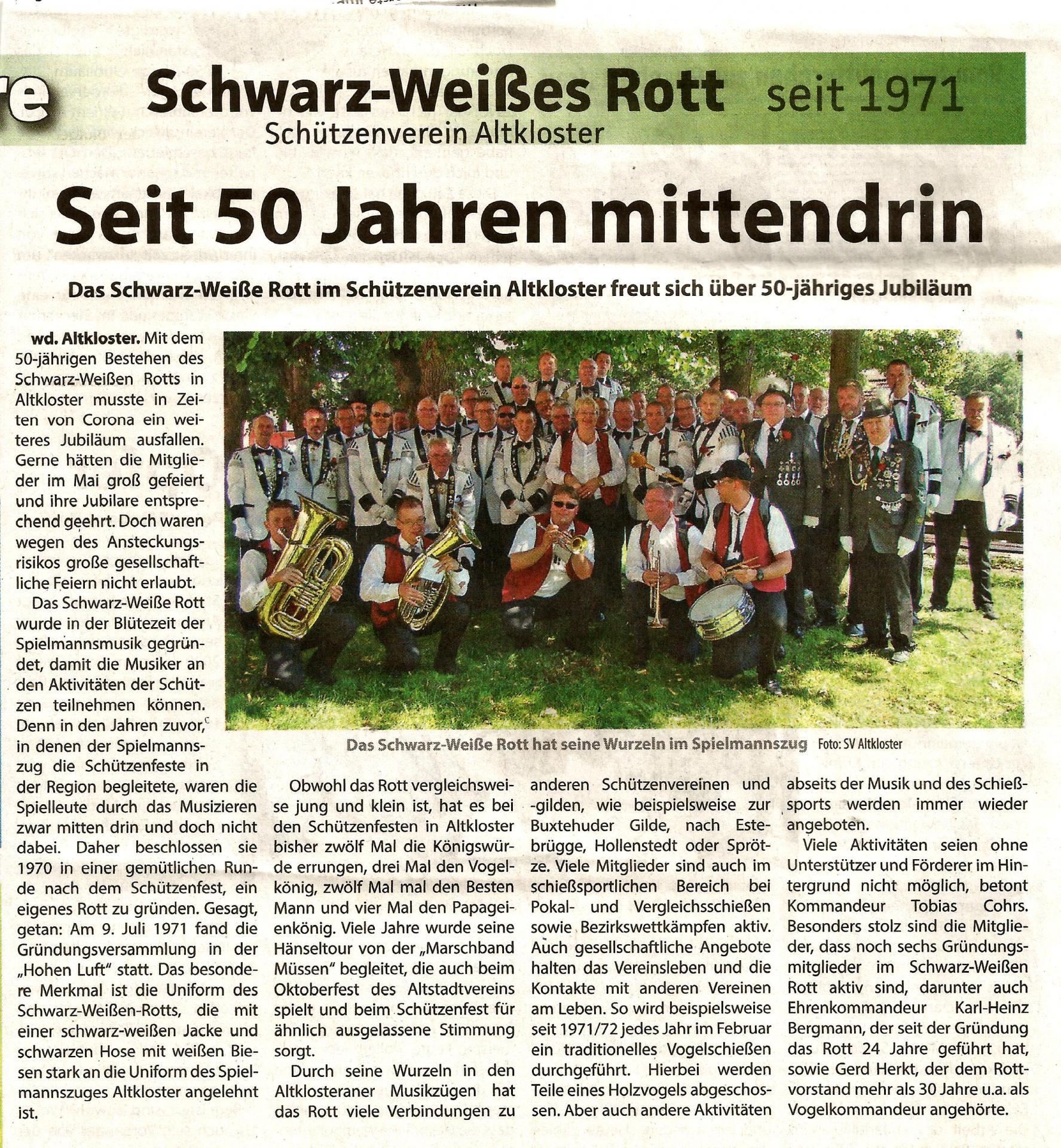 2021-07-03-Buxtehuder Wochenblatt-50 Jahre S-WR