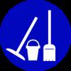 Arbeitsdienst-Grundreinigung