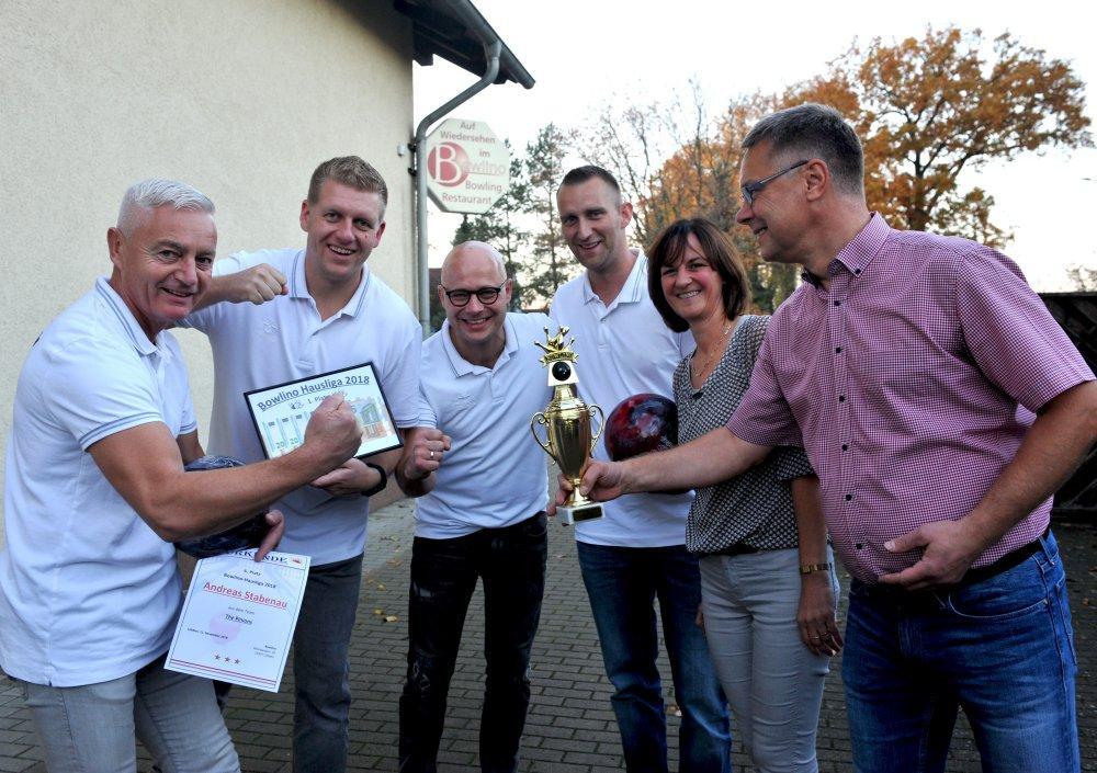 The Pinions die diesjährige Siegermannschaft