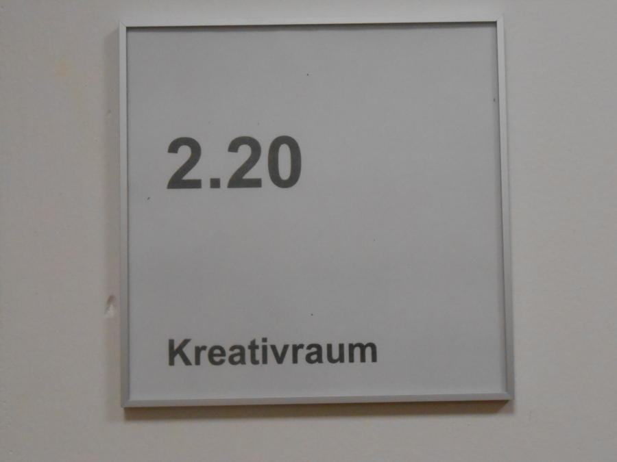 Eingang Kreativraum