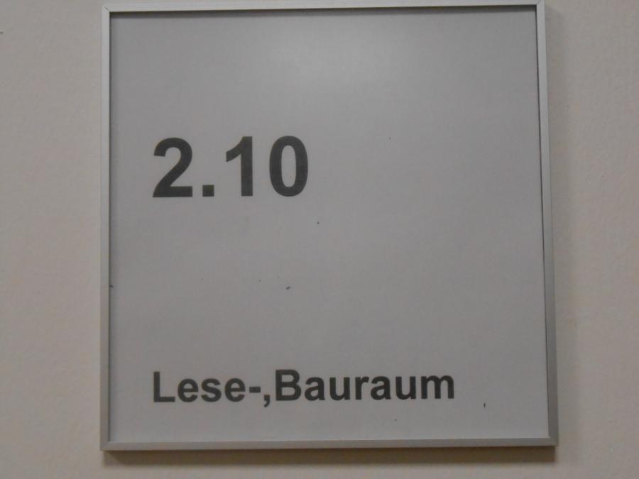 Eingang LeseBau_raum