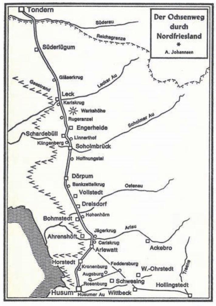 Ochsenweg-Karte