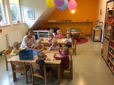 Jüngere Kindergartengruppe