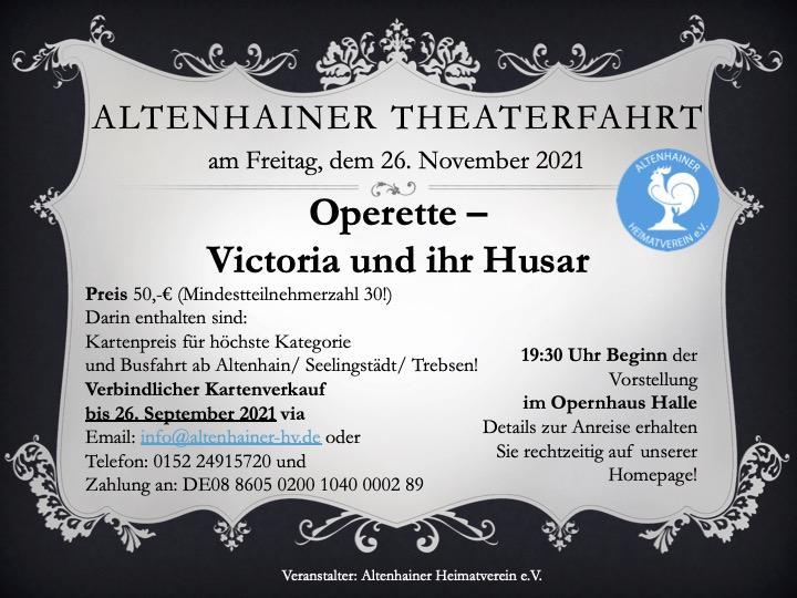 Altenhainer Theaterfahrt