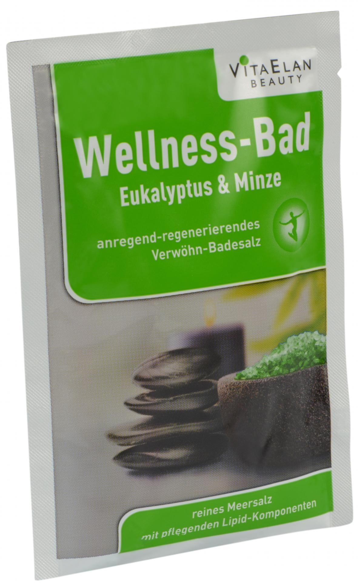 Wellness-Bad Eukalyptus-Minze