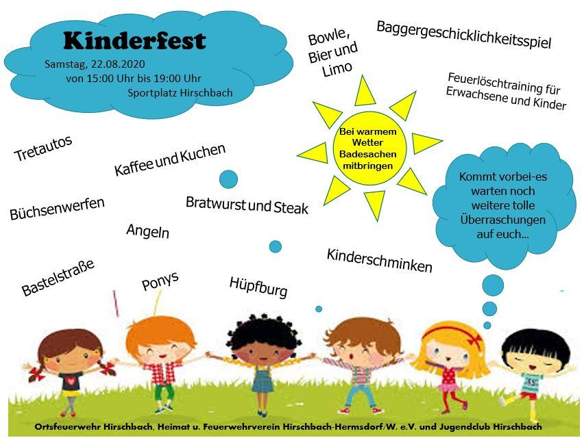 Kinderfest in Hirschbach