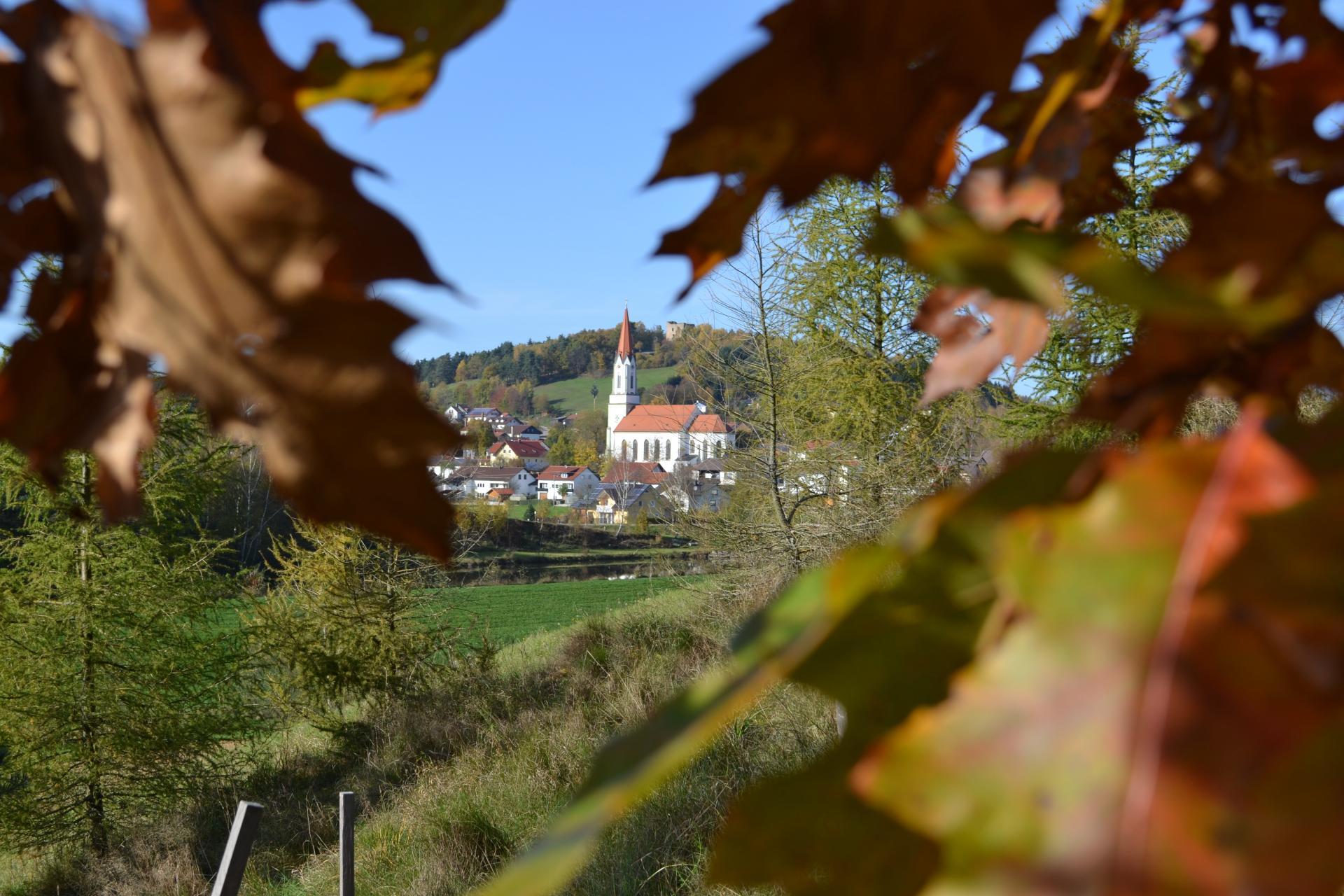 Herbst in der Gemeinde Zell