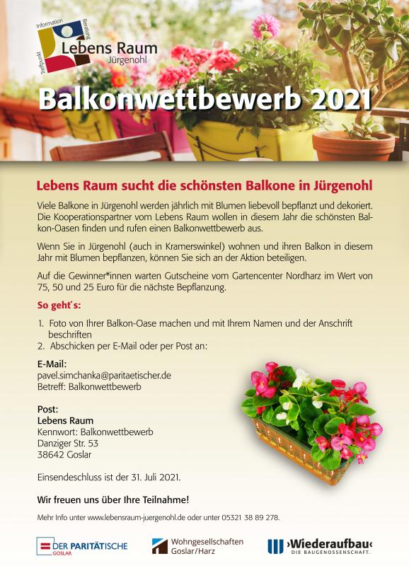 Balkonwettbewerb 2021