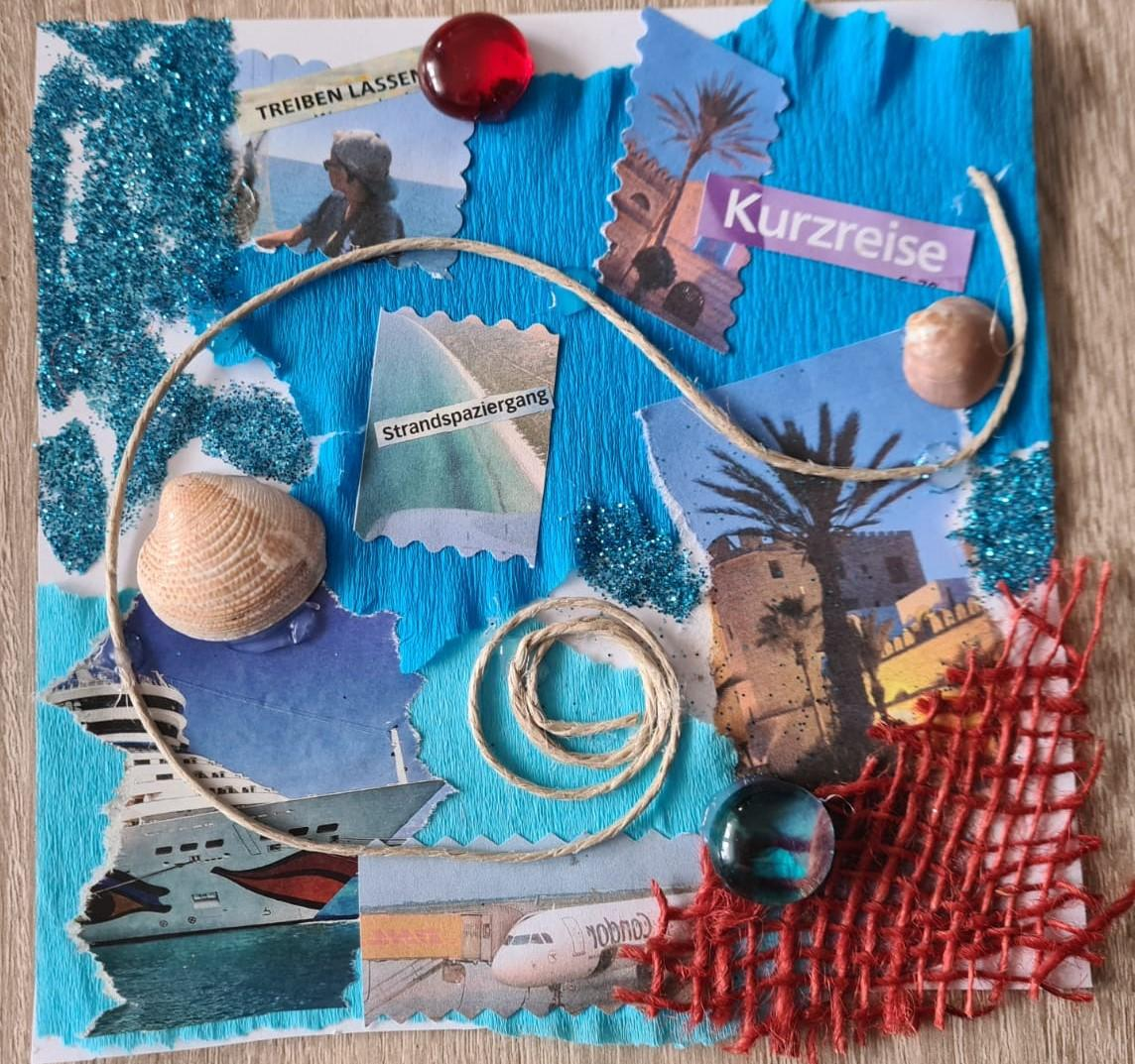 Collage Reise