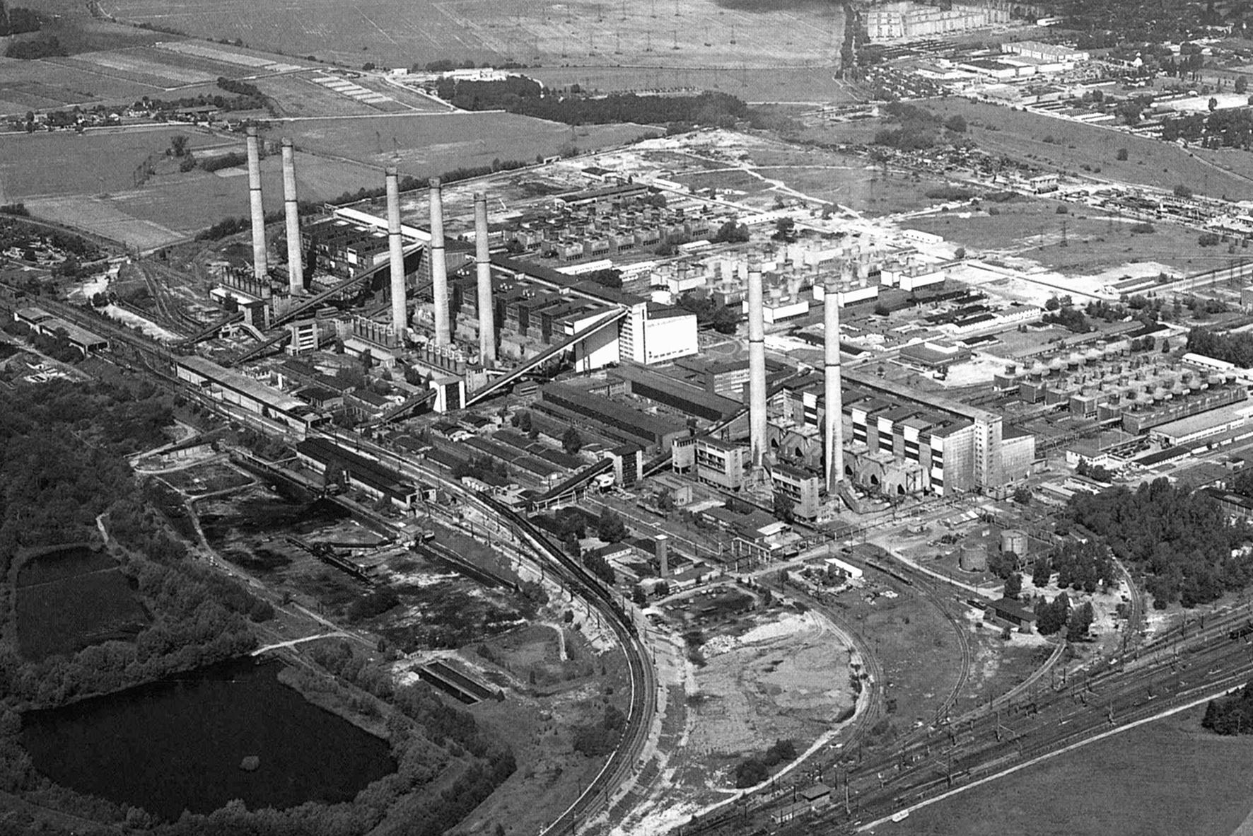 Kraftwerk Lübbenau/Spreewald, Foto: Archiv