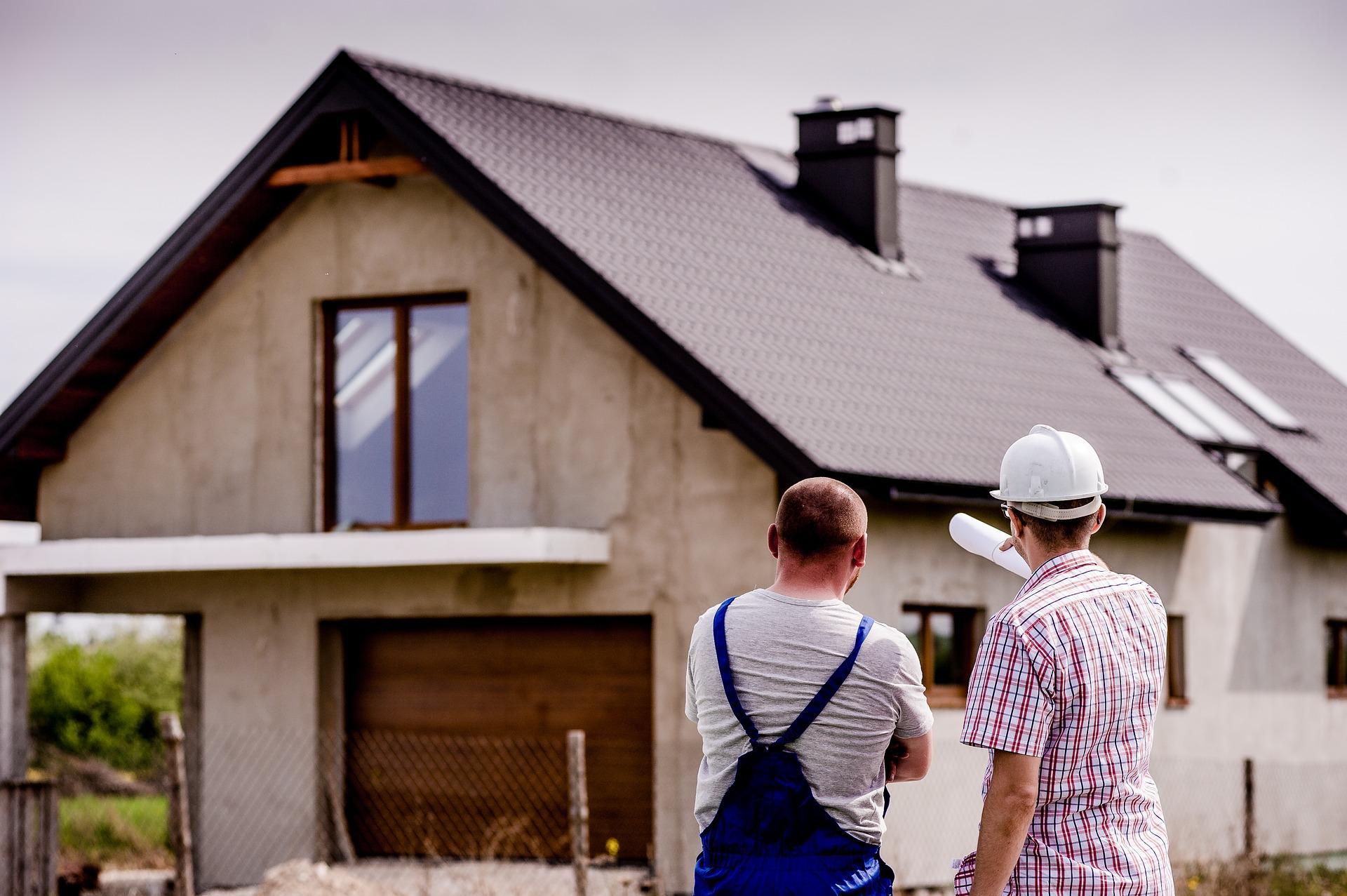 Bild Haus und Architekt, Quelle: Bild von Michal Jarmoluk auf Pixabay