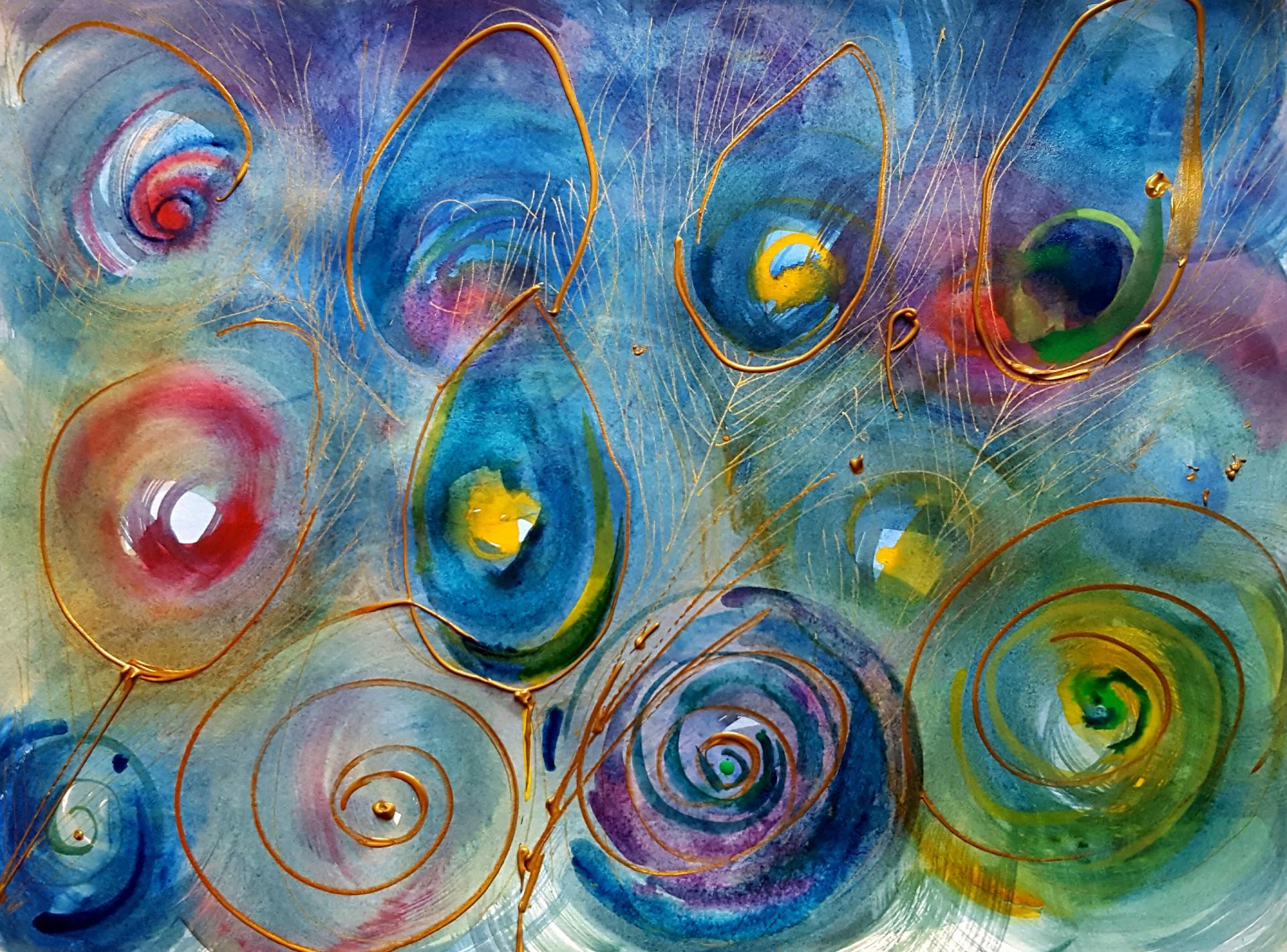 Aquarell der Künstlerin Antje Koßmagk
