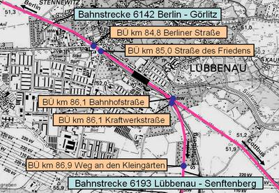 Niveaufreies Verkehrskonzept (NVK) - Neuordnung Bahnübergänge