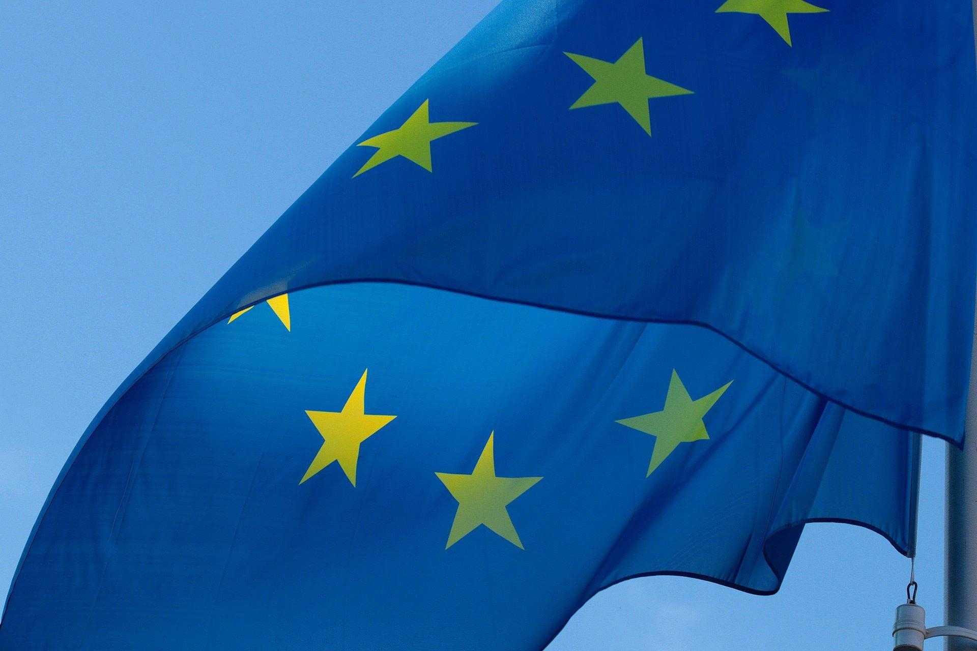 Bild Europaflagge, Quelle: Bild von S. Hermann & F. Richter auf Pixabay