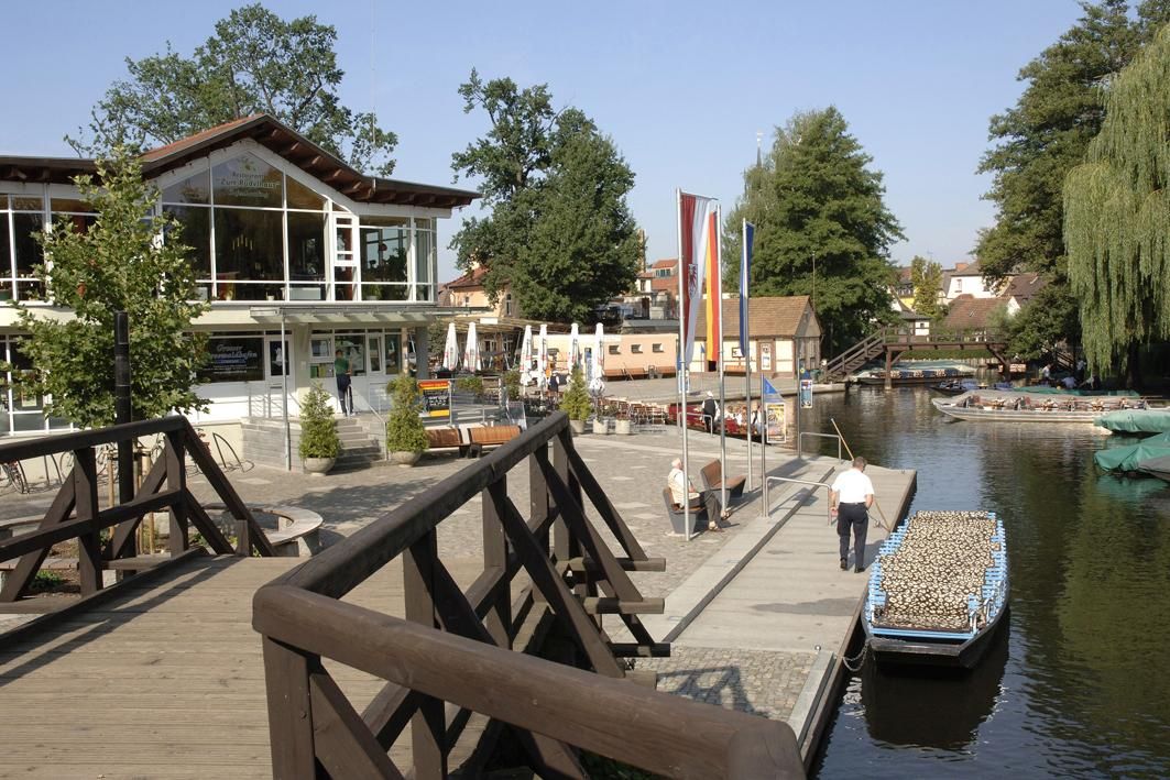 Großer Spreewaldhafen, Quelle: Stadt Lübbenau/Spreewald