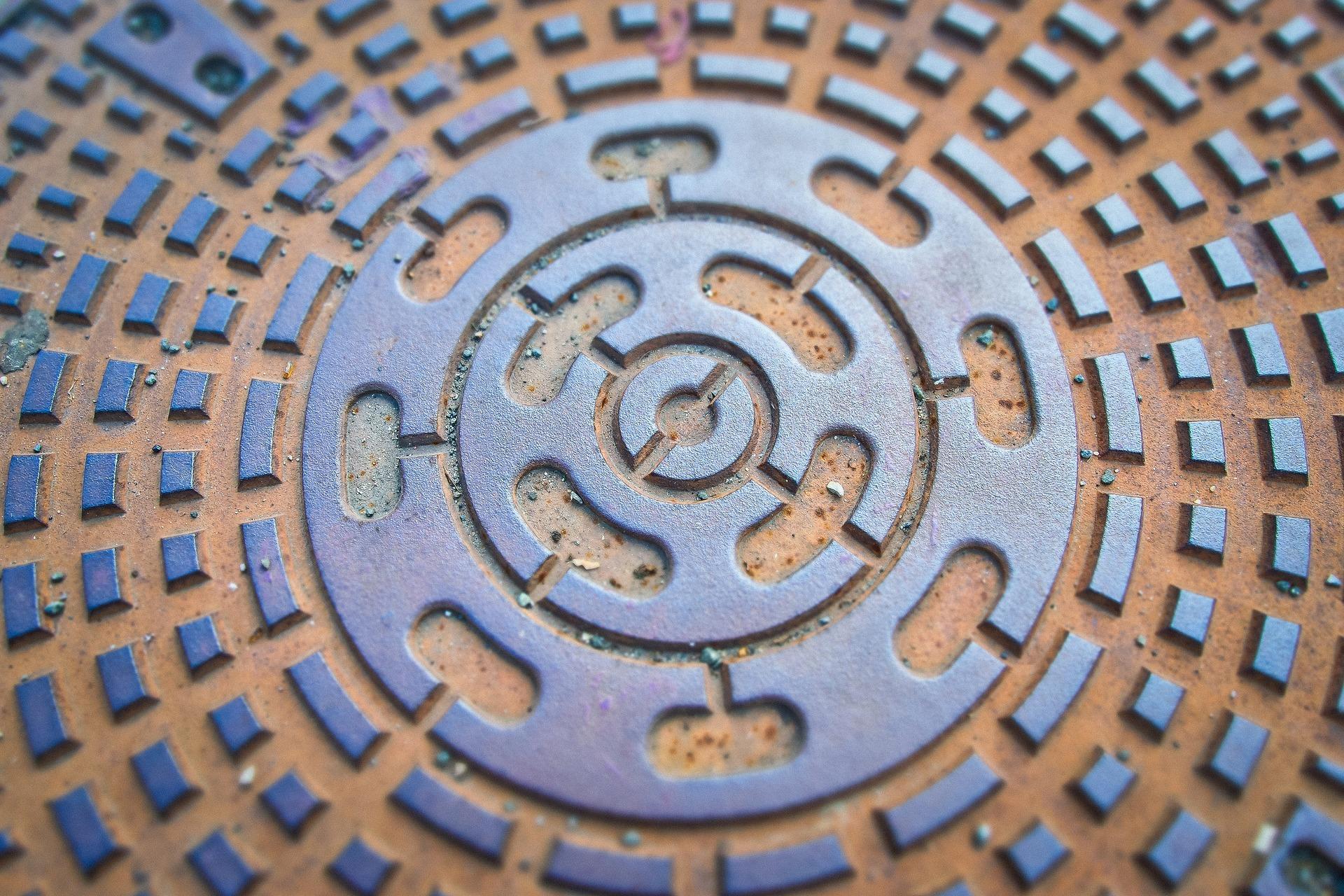 Gullideckel, Quelle: Bild von MichaelGaida auf Pixabay