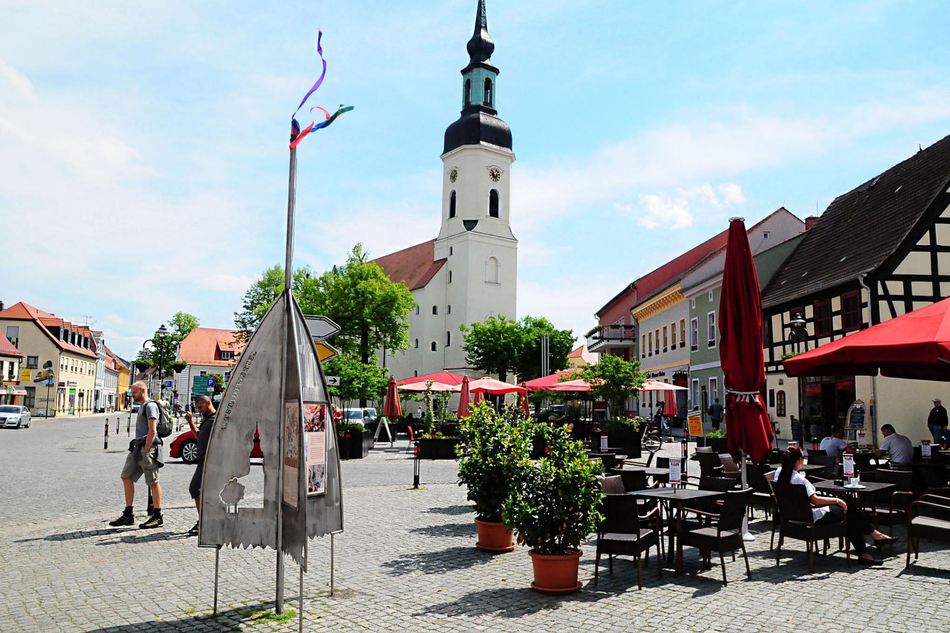 Kirchplatz, Quelle: Stadt Lübbenau/Spreewald