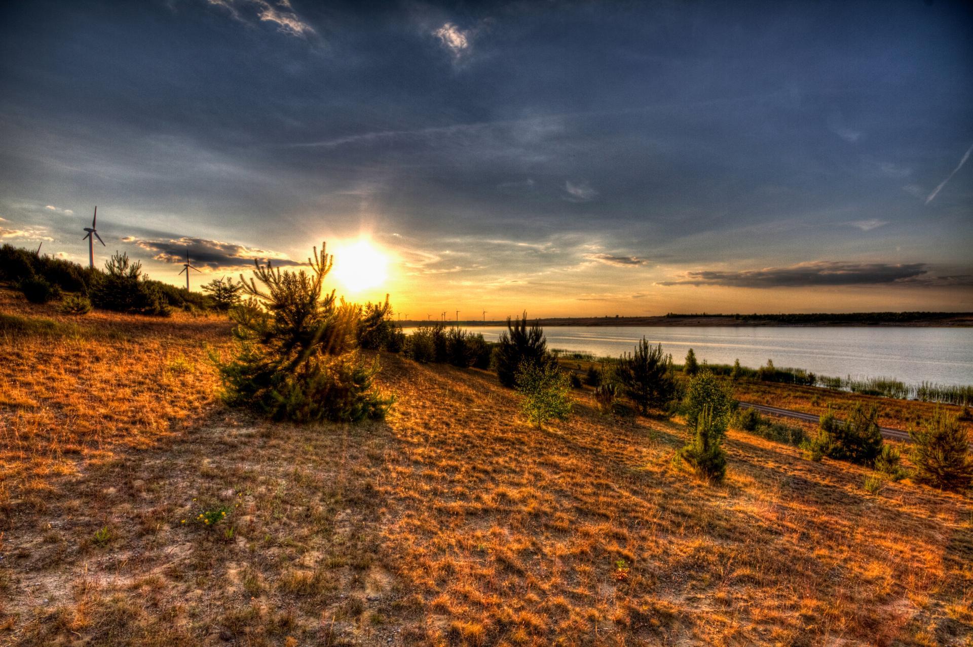 Bild vom Bischdorfer See, Foto: Peter Becker